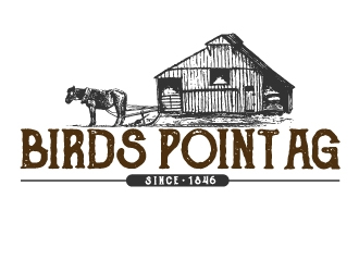 Birds Point Ag logo design