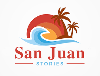 San Juan Stories logo design
