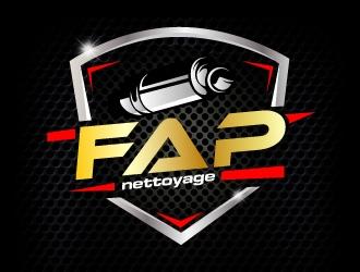 FAP Nettoyage 2 logo design