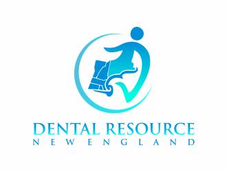Dental Resource New England logo design by Mahrein