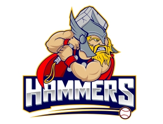 Hammers logo design