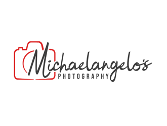 Michaelangelos Photography logo design
