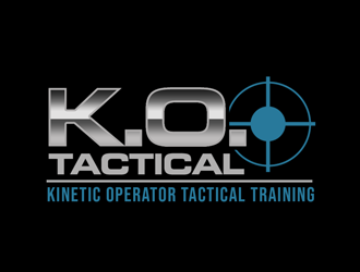 K.O. Tactical (It stand for Kinetic Operator Tactical Training) logo design