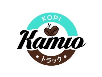 Kopi Kamio logo design by harrysvellas