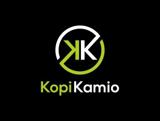 Kopi Kamio logo design by ubai popi