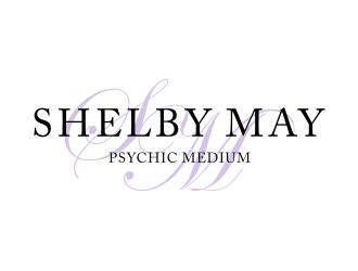 shelby May Psychic Medium logo design