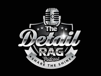 The Detail Rag         Tagline: Share The Shine logo design