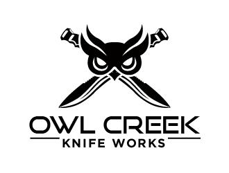 Owl Creek Knife Works logo design