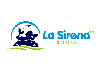 La Sirena Books logo design