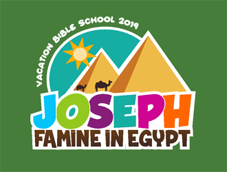 Joseph: Famine in Egypt logo design