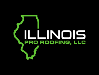 Illinois Pro Roofing, LLC logo design