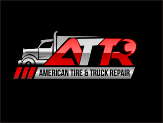 American Tire & Truck Repair logo design