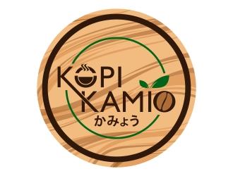 Kopi Kamio logo design