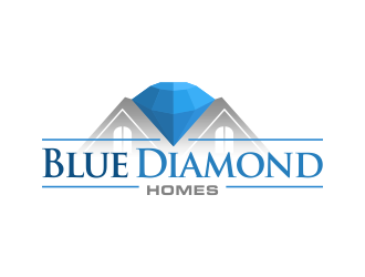 Blue Diamond Homes logo design