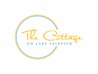 The Cottage on Lake Fairview logo design