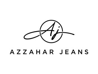 azzahar jeans logo design