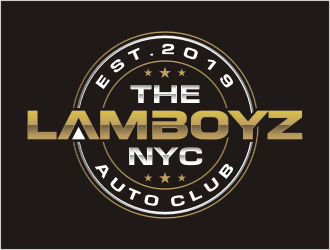 TheLamBoyz NYC logo design