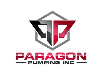 Paragon Pumping Inc logo design