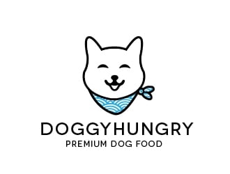 DOGGYHUNGRY logo design