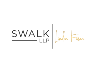 SWALK LLP   logo design