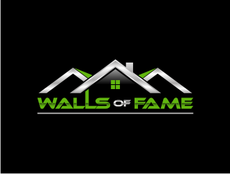 Walls Of Fame logo design