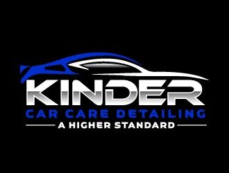 Kinder Car Care Detailing logo design