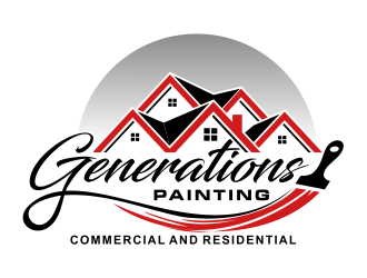 Generations Painting logo design