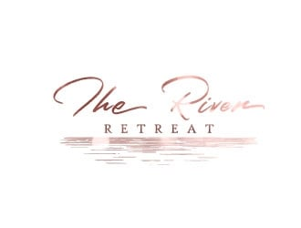 The River Retreat Logo Design