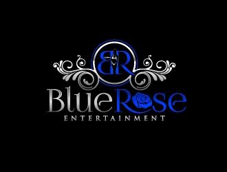 Blue Rose Entertainment logo design