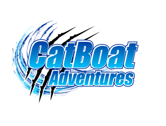 CatBoat Adventures logo design