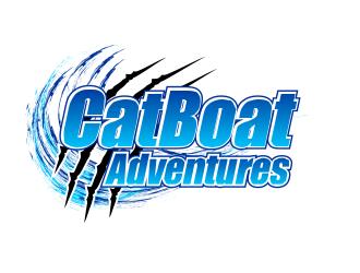 CatBoat Adventures logo design