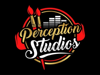 Perception Studios logo design
