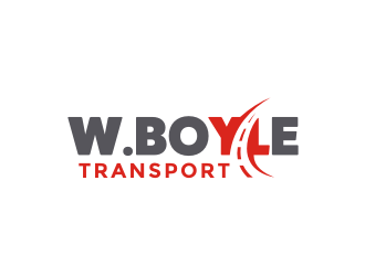 W.BOYLE TRANSPORT logo design