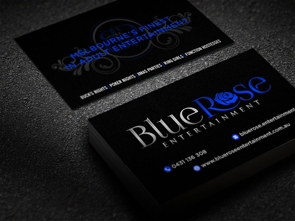 Blue Rose Entertainment brand identity winner