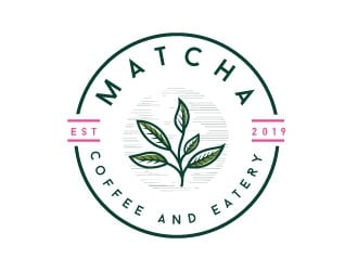 Matcha | Coffee and eatery  logo design