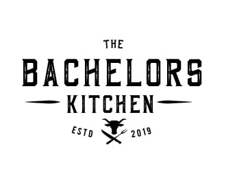 The Bachelors kitchen logo design
