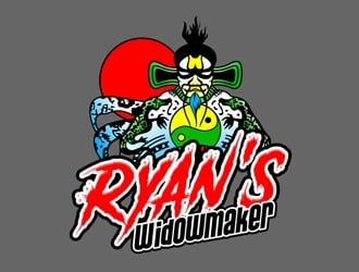 Ryans Widowmaker logo design