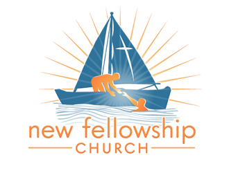 new fellowship church logo design