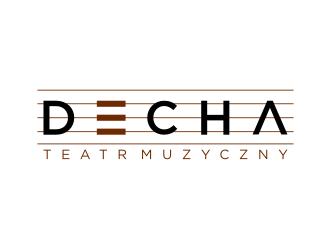 Decha or decha or DECHA logo design