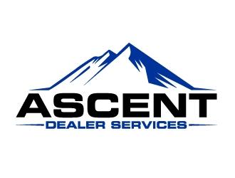 Ascent Dealer Services  logo design