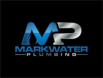 Markwater Plumbing  logo design