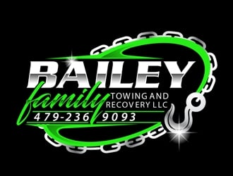 Bailey family towing and recovery llc logo design