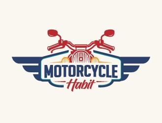 Motorcycle Habit logo design