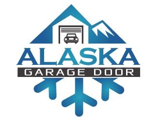 Alaska Garage Door logo design