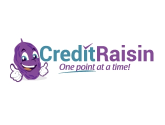 Credit Raisin logo design