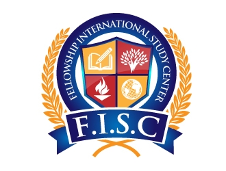 F.I.S.C   Fellowship International Study Centre logo design