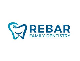 Rebar Family Dentistry logo design