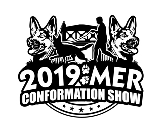 MER 2019 Conformation Show logo design