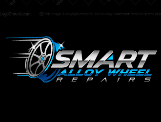 smart alloy wheel repairs  logo design