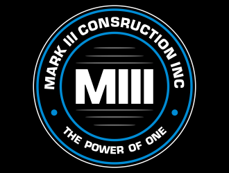 Mark III Consruction Inc logo design